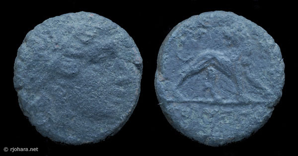 [Image: Specimen RJO 11 from 'Ancient Coins of Miletus']