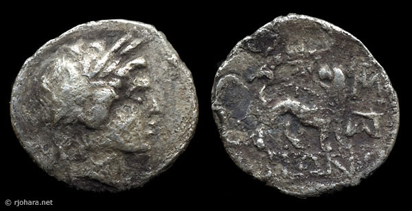 [Image: Specimen RJO 44 from 'Ancient Coins of Miletus']