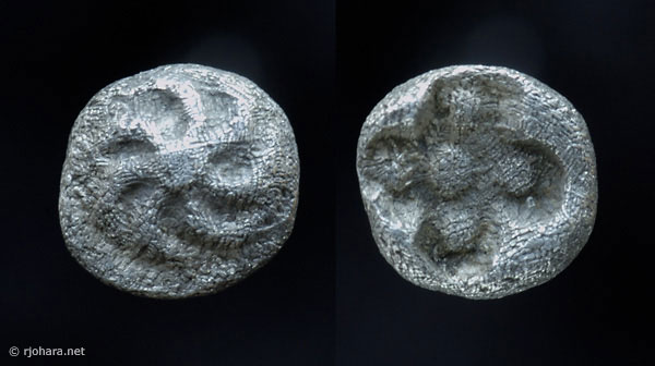 [Image: Specimen RJO 56 from 'Ancient Coins of Miletus']