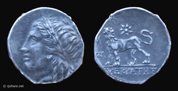 [Image: Specimen RJO 72 from 'Ancient Coins of Miletus']