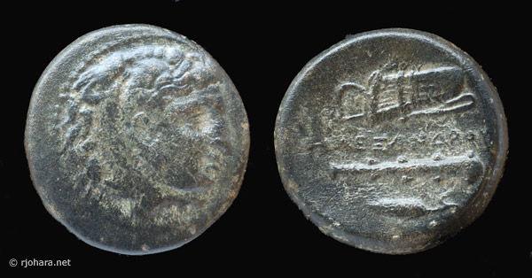 [Image: Specimen RJO 81 from 'Ancient Coins of Miletus']