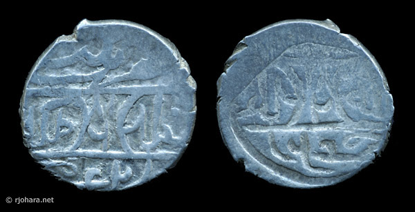 [Image: A silver akche of sultan Mehmed I, struck at Balad (Miletus) about 1413.]
