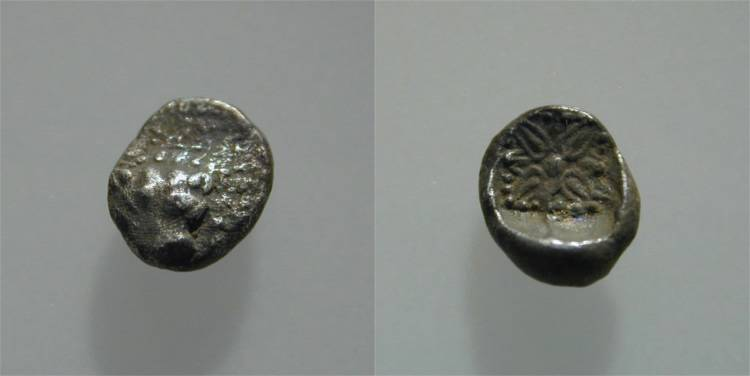 [Image: Specimen RJO 90 from 'Ancient Coins of Miletus']