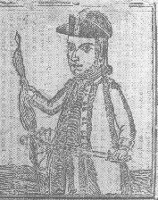 [Woodcut of Daniel Shays and Job Shattuck]