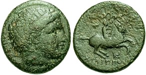[Image: Specimen RJO 105 from 'Ancient Coins of Miletus']