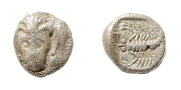 [Image: Specimen RJO 111 from 'Ancient Coins of Miletus']
