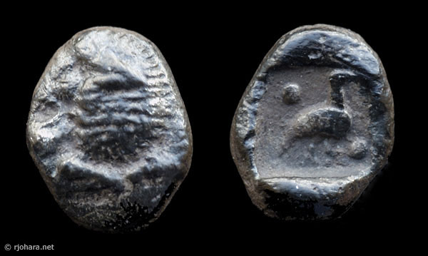 [Image: Specimen RJO 29 from 'Ancient Coins of Miletus']