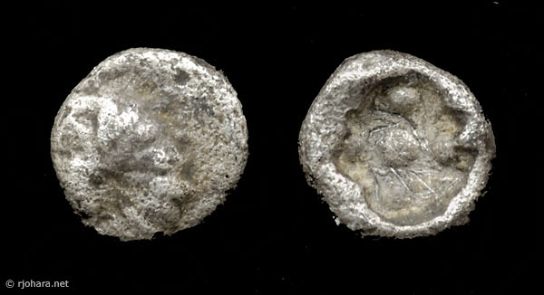 [Image: Specimen RJO 63 from 'Ancient Coins of Miletus']