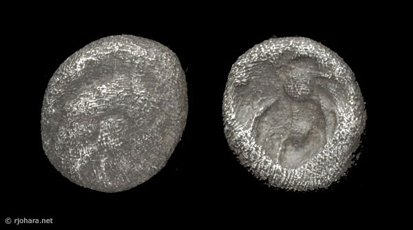 [Image: Specimen RJO 64 from 'Ancient Coins of Miletus']