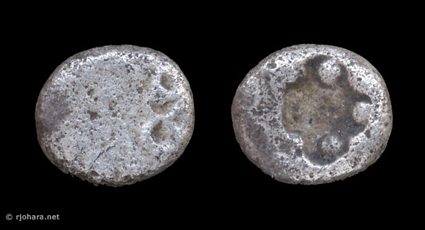 [Image: Specimen RJO 67 from 'Ancient Coins of Miletus']